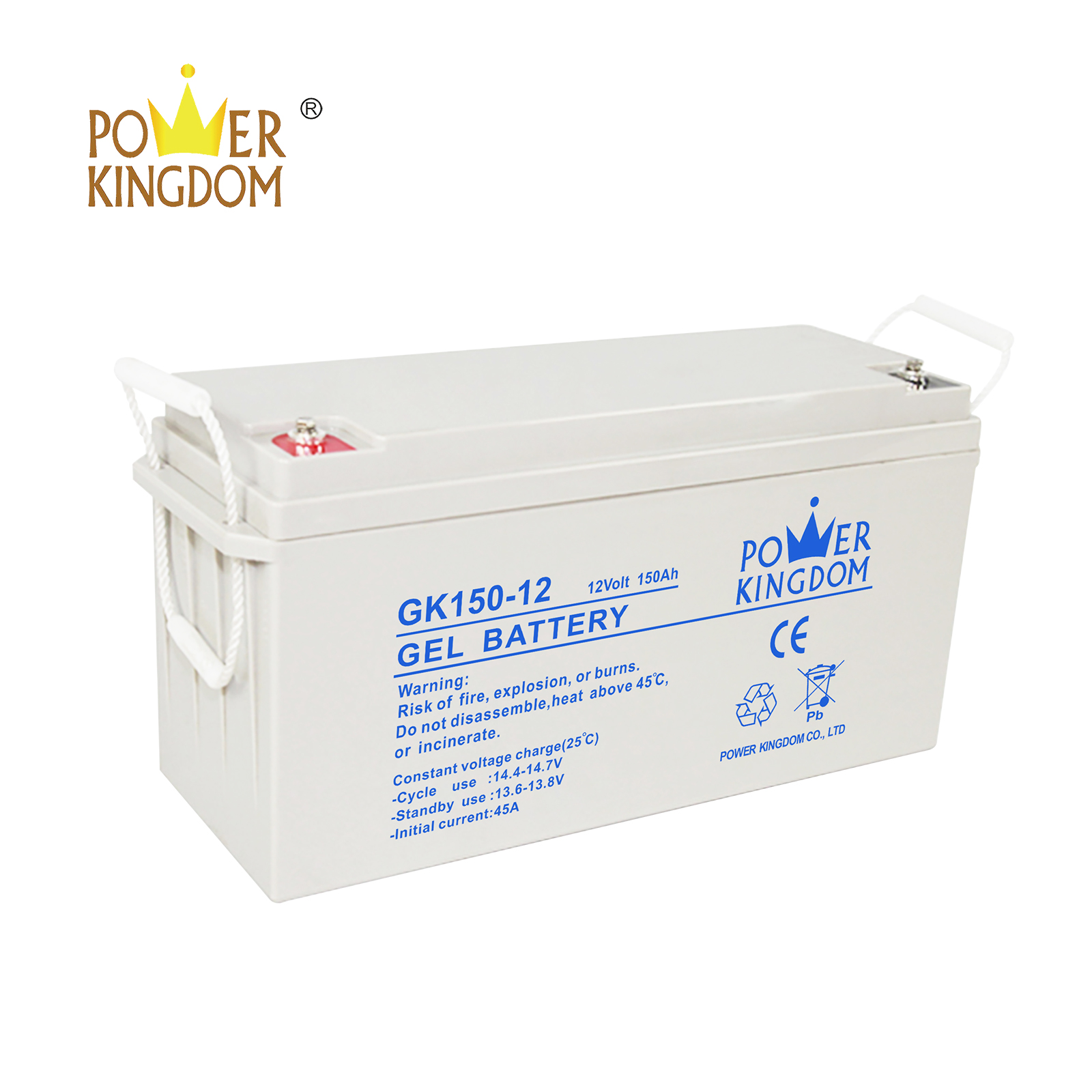 Power Kingdom rechargeable 12v 7ah sealed battery factory solor system-2