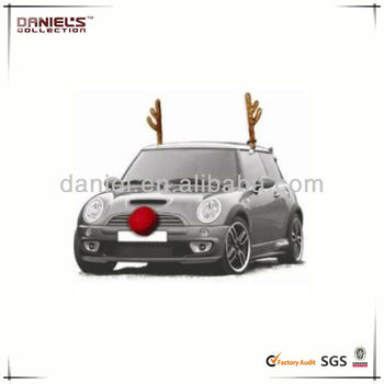 Christmas Car Decorations.Christmas Car Costume Reindeer Antlers Car Truck Suv Decorating Kit New Buy Christmas Decoration High Quality Car Christmas Decoration Car Xmas