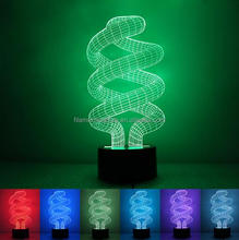 FS-3147 3d illusion lamp of best deal online wholesale acylic night light with changing color lighting