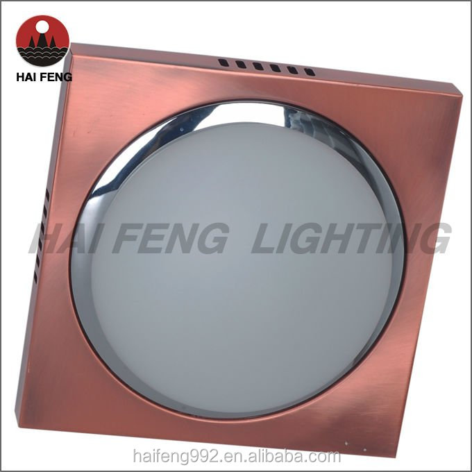 copper color iron Indirect Lighting Fixture