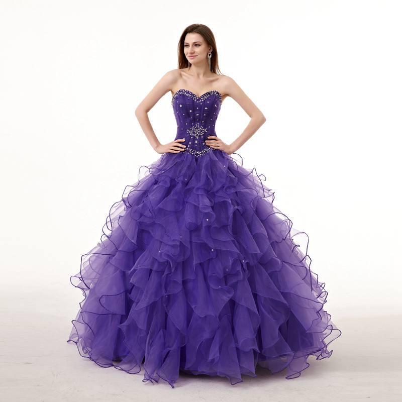 Cheap Wedding Gown Purple, find Wedding Gown Purple deals on line at ...