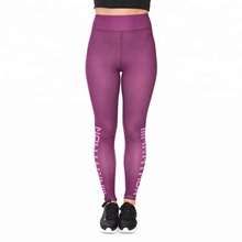 Zohra high waist Yoga Sport Leggings sexy ladies Custom Printed Girls Sportswear Workout Pants for Women