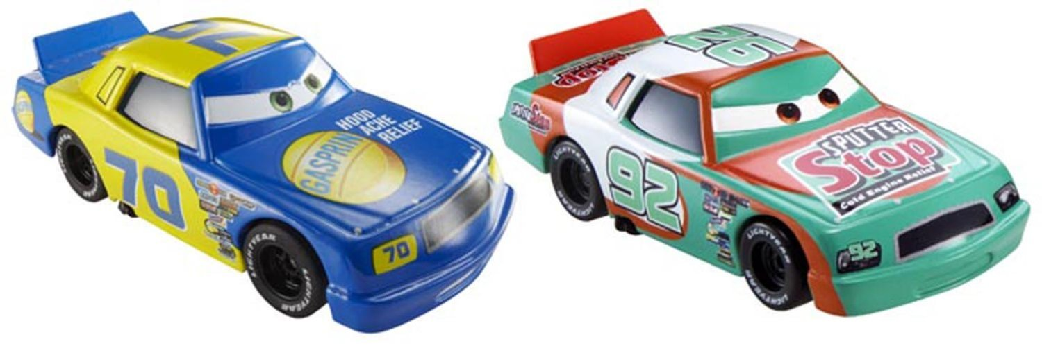 Disney/Pixar Cars Collector Die-Cast Gasprin and Sputter Stop Vehicle, 2-Pack