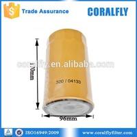 ISO factory OEM for heavy truck oil filter 320/04133