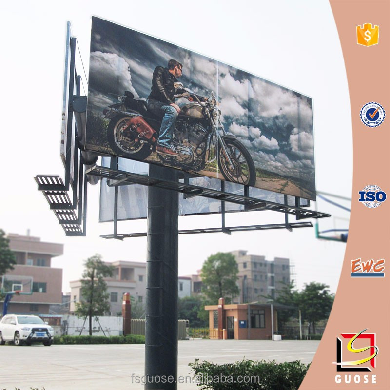2016 Ad Stand Equipment Highway Outdoor Trivision Billboard ...