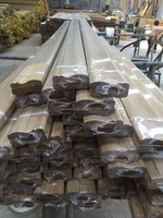 High quality black teak wood moulding with lowest price