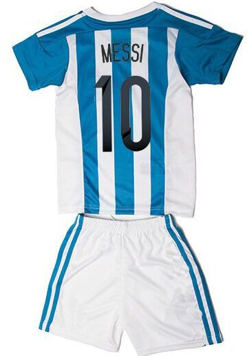 264396719 Buy 2014 world cup argentina away blue kids soccer football jersey kits