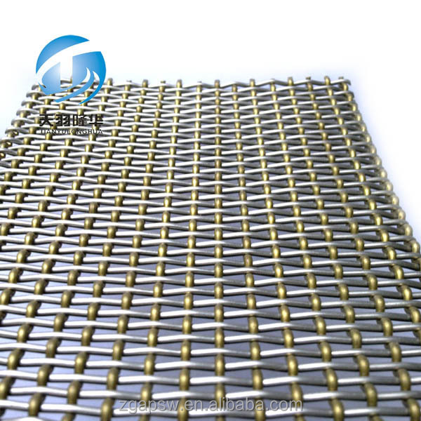 Stainless Steel 304 Architectural Woven Wire Mesh