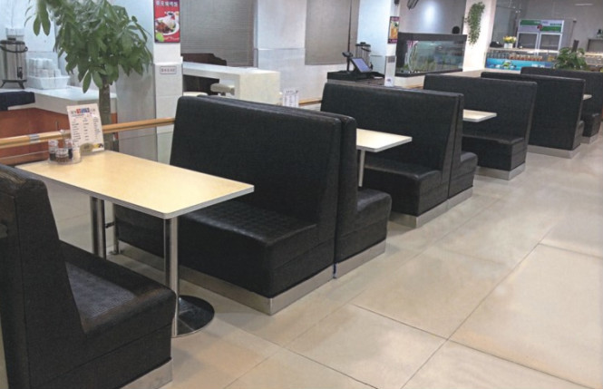 Back To Back Fabric Modern Restaurant Furniture Booths Buy Back - Modern restaurant furniture