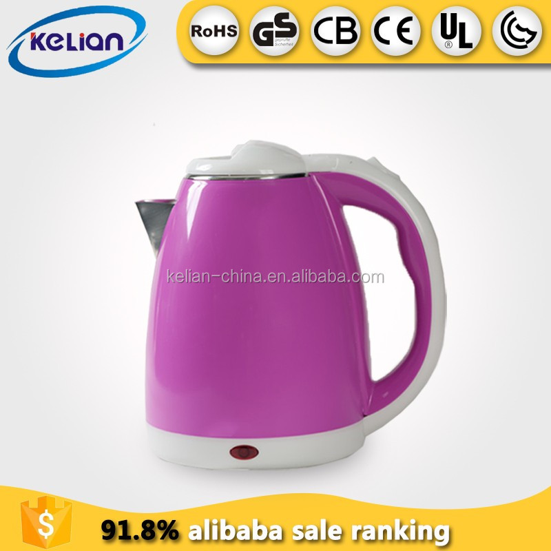 England fast boiling stainless steel electric kettle