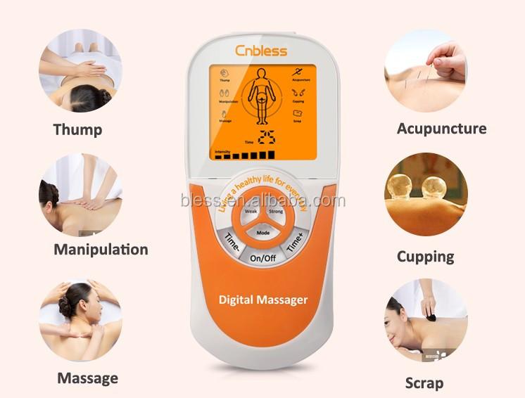 Dual Channel Tens Elektronische Puls Stimulator Machine Fysiotherapie