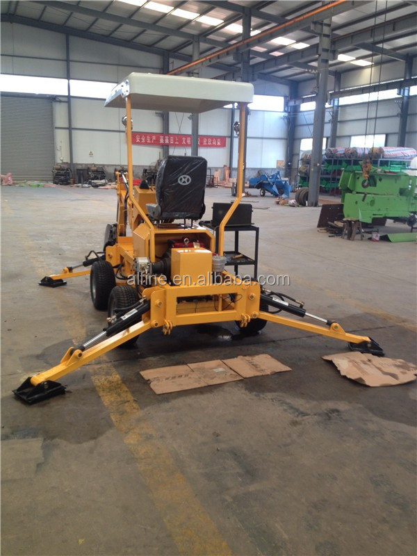 New type CE certificated small backhoe loader