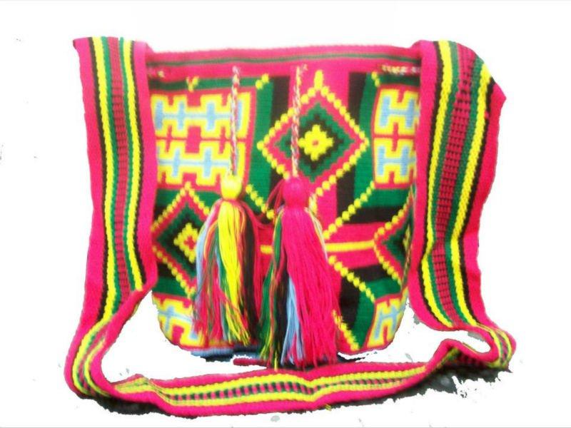 On Wayuu Indígenas Colombia hecho Mochilas Product Buy Por colombia Yygf6b7