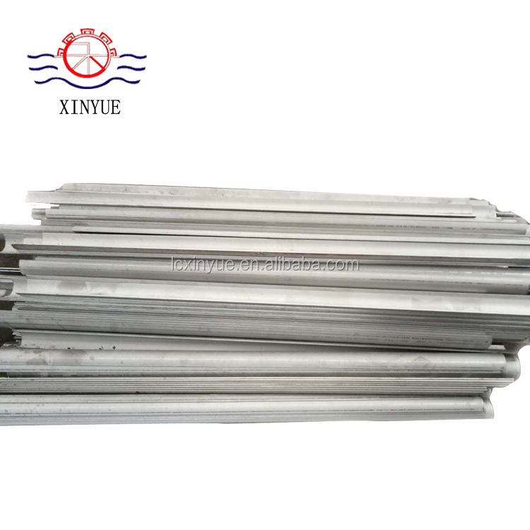 Biomass furnace chain grate boiler accessories Finned tube shields