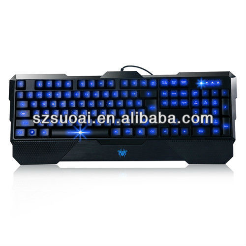 tablet and laptop external wired gaming backlight keyboard