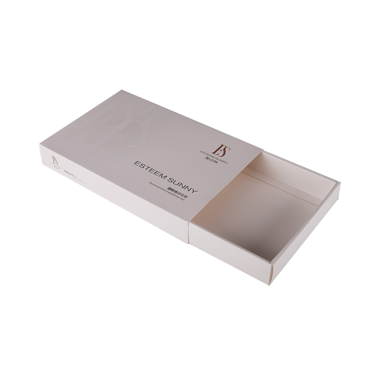 High level OEM custom logo drawer style small paper box packaging cosmetic