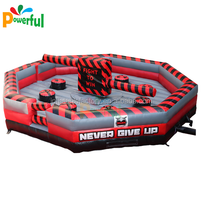 Inflatable wipeout game , inflatable meltdown game for adult N kids