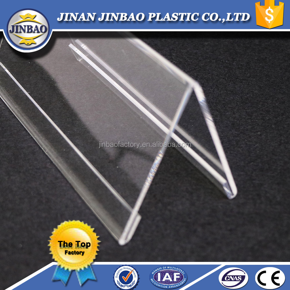 JINBAO factory wholesale custom acrylic place card holder