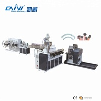 Transparent Fabric Steel Wire Reinforced Spring Pvc Hose Pipe Production Line/Plastic Tube Making Machine