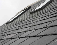 Black Roofing Slate For Exterior Roof