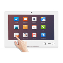 Tablet android pc 10 polegadas nfc android 8.<span class=keywords><strong>1</strong></span> poe quiosque/tablet de feedback com rs232/rs485