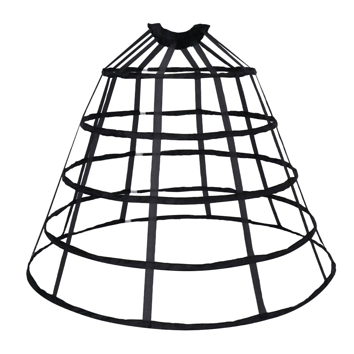cheap dress hoop skirt find dress hoop skirt deals on line at Easy to Make Petticoat get quotations happystory cage hoop skirt petticoat dress pannier 5 hoops bustle cage crinoline