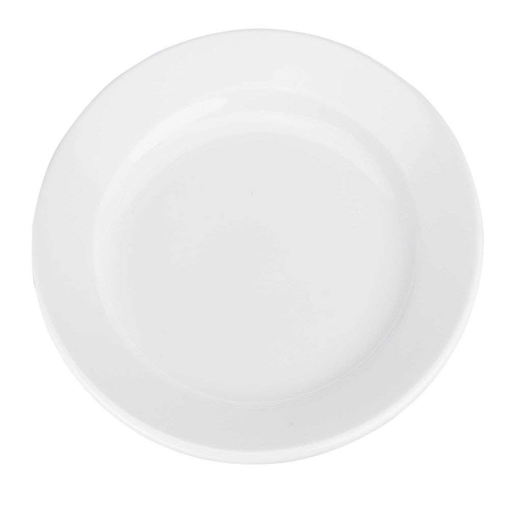 BIA Bistro White Porcelain 12 Inch Charger Plate
