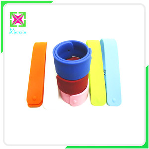 Wholesale Custom Silicone Folding Ruler, Rolling Ruler, Ruler Slap Bracelet