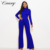 Custom Dames Mode Fitness Lange Broek Jumpsuit Vrouwen Sexy Jumpsuits