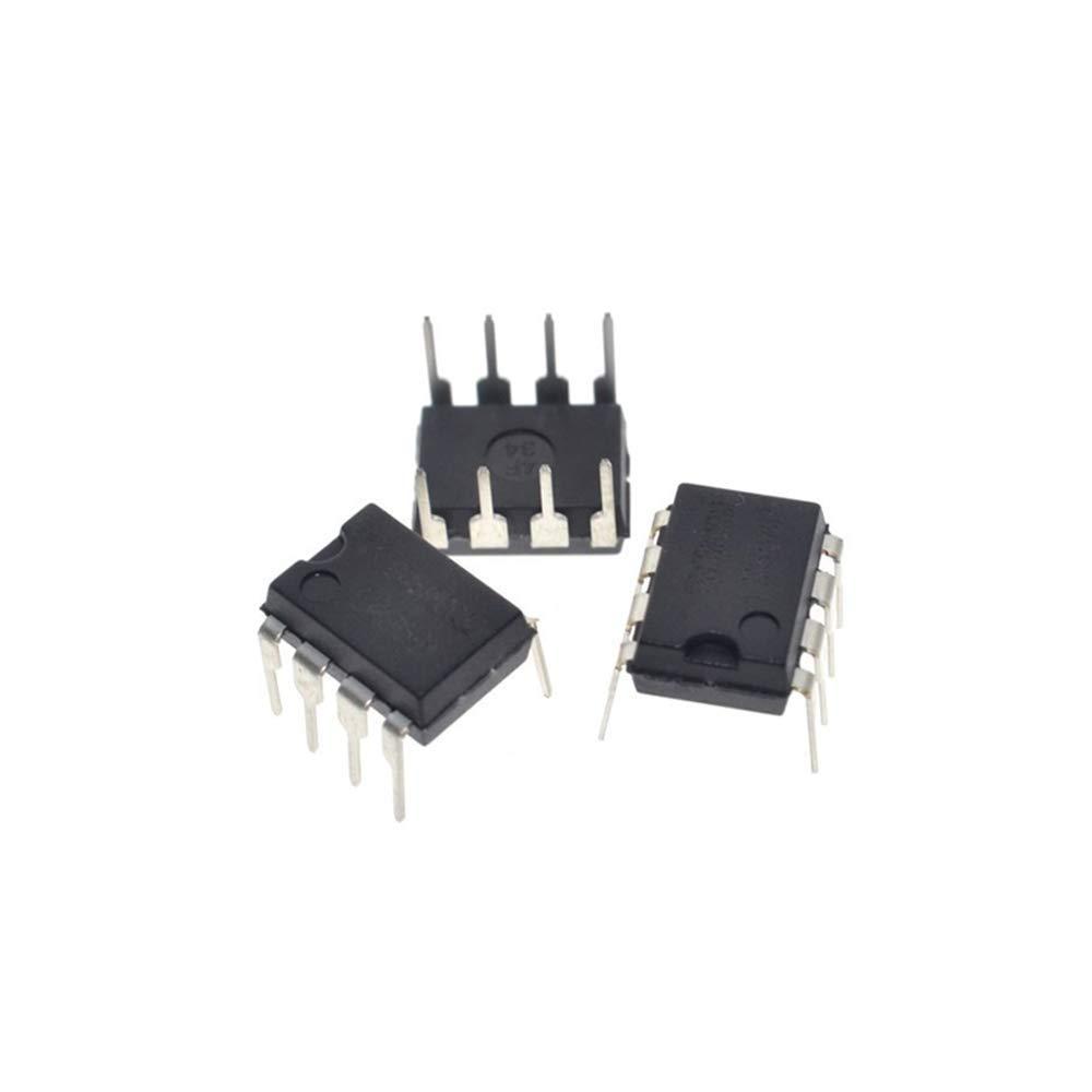 HUIMAI 10PCS LM358P DIP8 LM358 DIP LM358N DUAL OPERATIONAL AMPLIFIERS Original and NEW