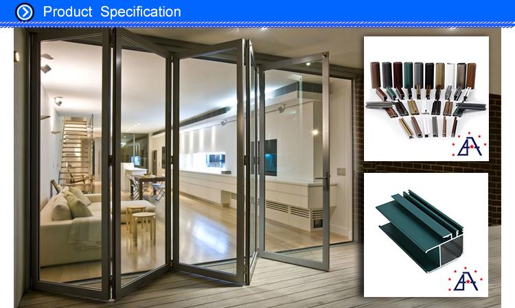 Perfil de aluminio para puertas y ventanas perfiles para - Puertas de aluminio con cristal ...