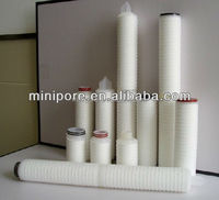 Good quality PP membrane pleated 0 2 micron cartridge water filter