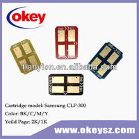 toner chip CLP 300 printer chip/ toner reset chip