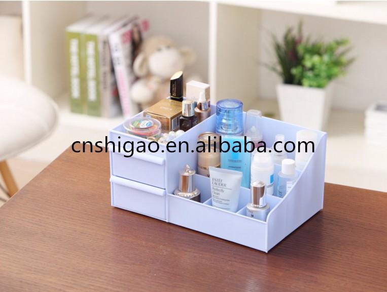 Acrylic Kotak Perhiasan Kosmetik Dengan Laci Akrilik Ruang Tamu