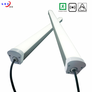 IP65 waterproof tube light 40w led batten led tri-proof fixture with 5 years warranty