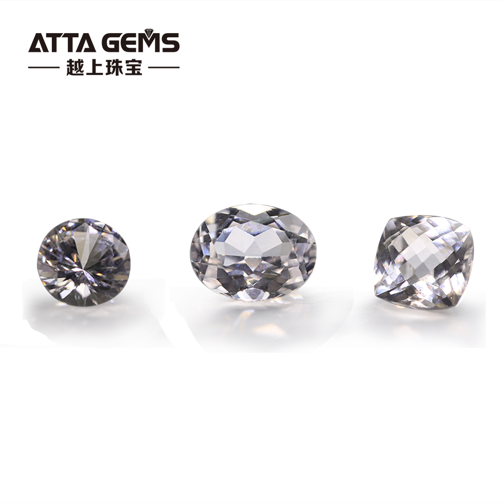Synthetic White Sapphire 8mm Aaaa Grade Corundum Gemstones - Buy Synthetic  Sapphire,Lab Created White Sapphire,Corundum Gem Product on Alibaba com