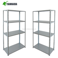 Heavy duty raw material metal warehouse home storage rack