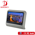 leather cover with high resolution 10.1inch universal car headrest monitor