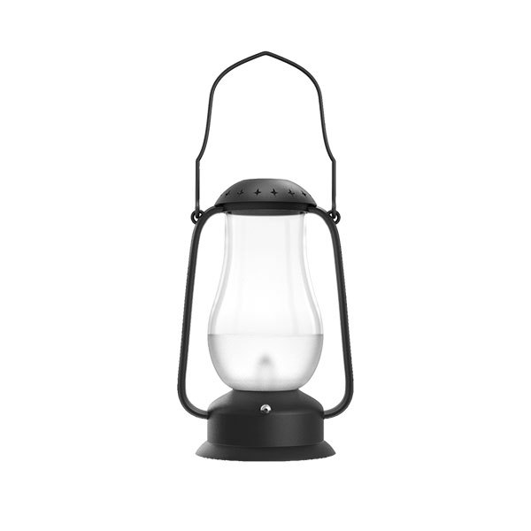Electric Black Rechargeable Led Camping Large Outdoor Candle ...