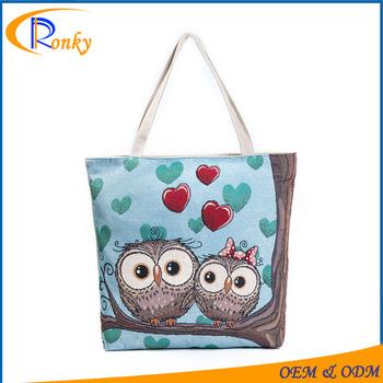 Good Deal Owl Souvenirs Travelling Handbags Diaper Bag