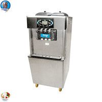 good quality multi flavor machine for softserve ice cream, 2+1 making yogurt cream