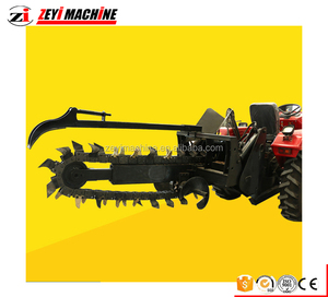 Hot sale mini tractor ditcher /mini tractor trencher/mini trenching machine for agricultural use .
