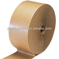 kraft paper tape for carton sealing and wire wrapping with hot melt adhesive