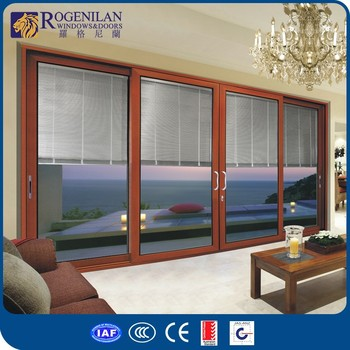 Rogenilan 120# 4-panel Sliding Balcony Exterior Metal Lowes French on glass french doors exterior, 4 panel doors exterior, white french doors exterior,