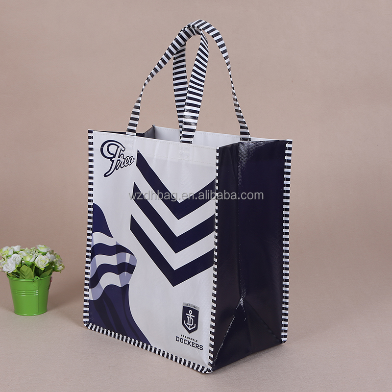 wholesale PP lamination tote non woven packing bag promotion