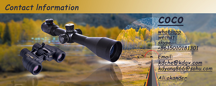 Optic red and green reticle night vision 4-16X50EG riflescope and rifle scope with free rail mounts