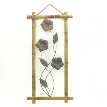 Popular Bamboo Wall Art Metal Craft Designs Wall Decors