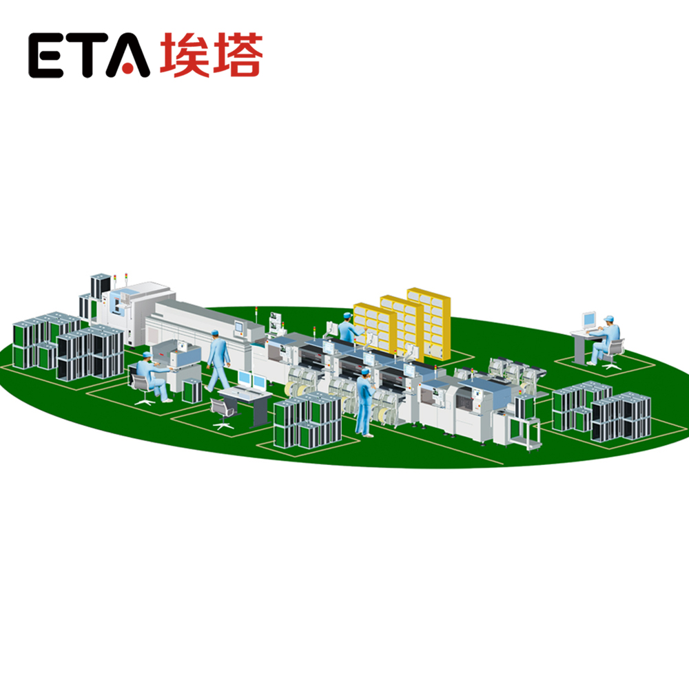 China Leader Manufacture LED Production Line for Solar Street Light 16