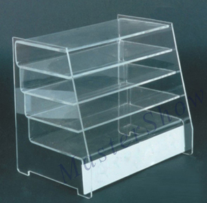 Customized acrylic pastry display case/acrylic pastry donut display case