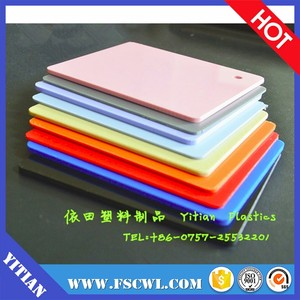 Factory Price Per Kg Solid 1mm 5mm Thickness Double Color ABS Plastic Sheet / Board / Plate For Vacuum Forming